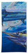 Lookers Off0019 Beach Towel by Carey Chen