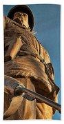 Looking Up To A Hero In Pueblo Colorado Beach Towel