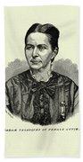 Loreta Janeta Velazquez (1842-1897) Beach Towel