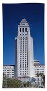 Los Angeles City Hall Beach Towel