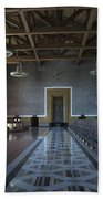 Los Angeles Union Station Original Ticket Lobby Beach Towel