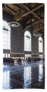 Los Angeles Union Station Original Ticket Lobby Vertical Beach Towel