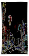 Losing Equilibrium - Abstract Art Beach Towel