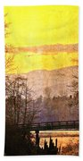 Lost Along The River Beach Towel