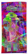 Lost In Abstract Space 20130611 Long Version Beach Towel