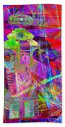 Lost In Abstract Space 20130611 Beach Towel