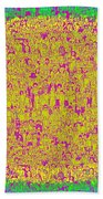 Lost In The Crowd Beach Towel