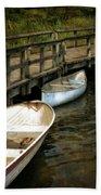 Lost Lake Boardwalk Beach Towel by Michelle Calkins