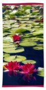 Lotus Dream Beach Towel