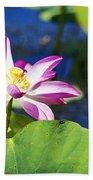 Lotus Flower V6 Beach Towel