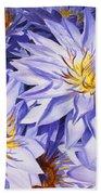 Lotus Light - Hawaiian Tropical Floral Beach Towel