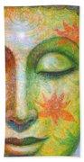 Lotus Meditation Buddha Beach Towel