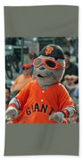 Lou Seal San Francisco Giants Mascot Beach Towel