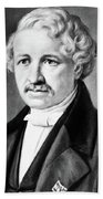 Louis Daguerre (1789-1751) Beach Towel
