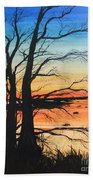 Louisiana Lacassine Nwr Treescape Beach Towel