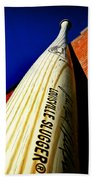 Louisville Slugger Bat Factory Museum Beach Towel