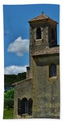 Lourmarin Castle Beach Towel