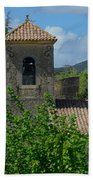 Lourmarin Castle In Provence Beach Towel