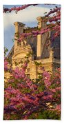 Louvre Blossoms Beach Towel