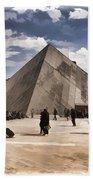 Louvre Museum - Paris Beach Towel