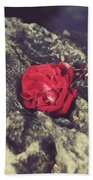 Love And Hard Times Beach Towel by Laurie Search