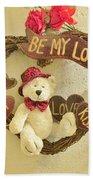Love Be My Love Beach Towel