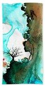 Love Has No Fear - Art By Sharon Cummings Beach Sheet