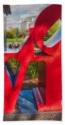 Love In City Park New Orleans Beach Towel