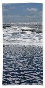 Love Letters In The Sand Beach Towel