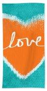 Love Beach Towel