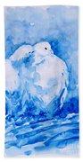 Love  Beach Towel by Zaira Dzhaubaeva