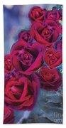 Loveflower Roses Beach Towel