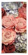 Lovely Flowers Beach Towel