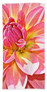 Lovely In Pink - Dahlia Beach Towel