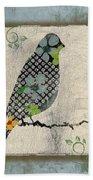 Lovely Song Bird-a Beach Towel