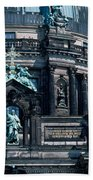 Low Angle View Of A Church, Berliner Beach Towel
