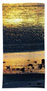 Low Tide Gold Beach Towel
