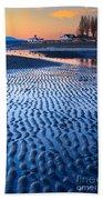 Low Tide In Seattle Beach Towel