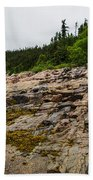 Low Tide - Walking On The Bottom Of Saint Lawrence River Beach Towel