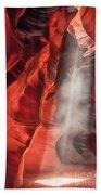 Upper Antelope Canyon Litebeam Beach Towel