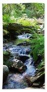 Lower Granite Falls 2 Beach Towel