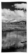 Lower Owens River Beach Towel