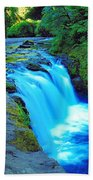Lower Punchbowl Falls Beach Towel