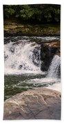 Lower Swallow Falls 2 Beach Towel