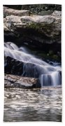 Lower Swallow Falls Stairsteps Beach Towel