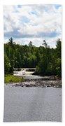 Lower Tahquamenon Falls L Beach Towel