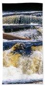 Lower Tequamenon Falls Beach Towel