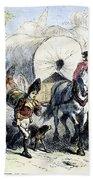 Loyalists & British, 1778 Beach Towel