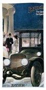 Lozier Cars - Vintage Advertisement Beach Towel