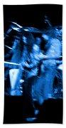 Ls Spo #67 Crop 2 In Blue Beach Towel